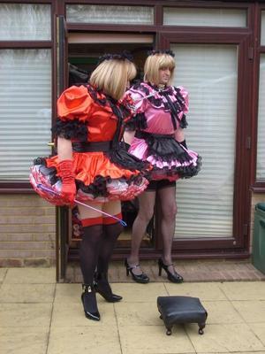 Training Sissy Male Maids 16