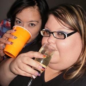 Bbw drinking