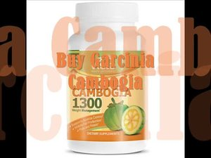 Garcinia Cambogia Extract with HCA - Weight Loss Benefits - 1,000 MG Per Serving 60 Capsules view on myspace.com tube online.