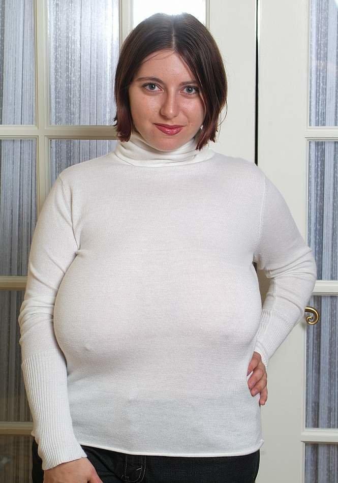 Fat boobs sweater