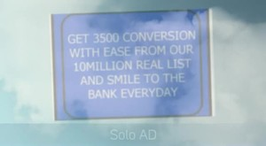 I will bombard traffic Your Solo ads Email Ad TO 10 000 000 Loyal Real List for $5 view on myspace.com tube online.