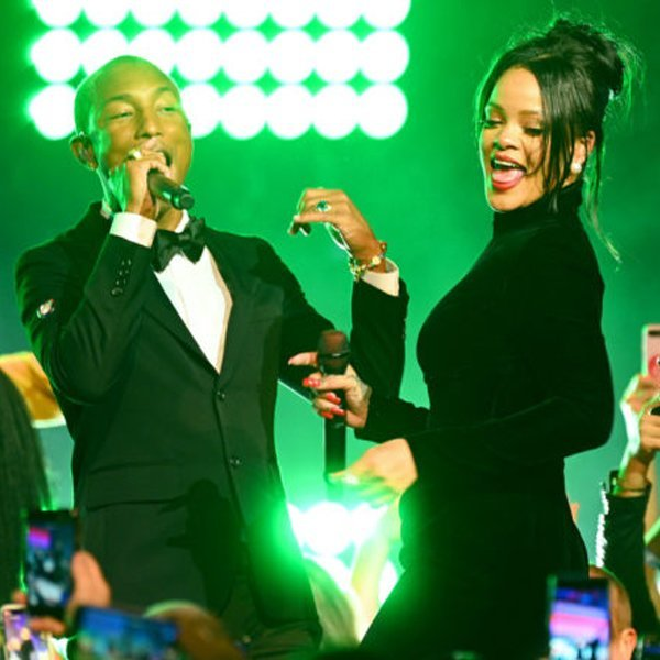 Rihanna is working with Pharrell Williams on her ninth album