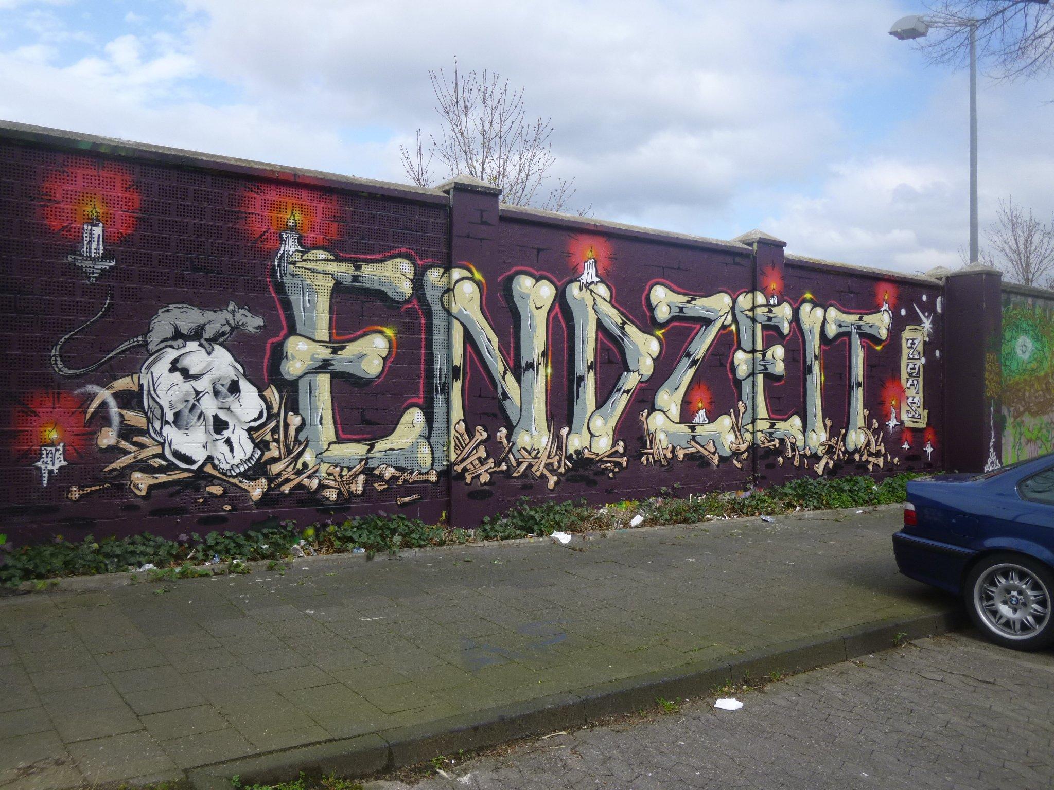 Graffiti - Endzeit