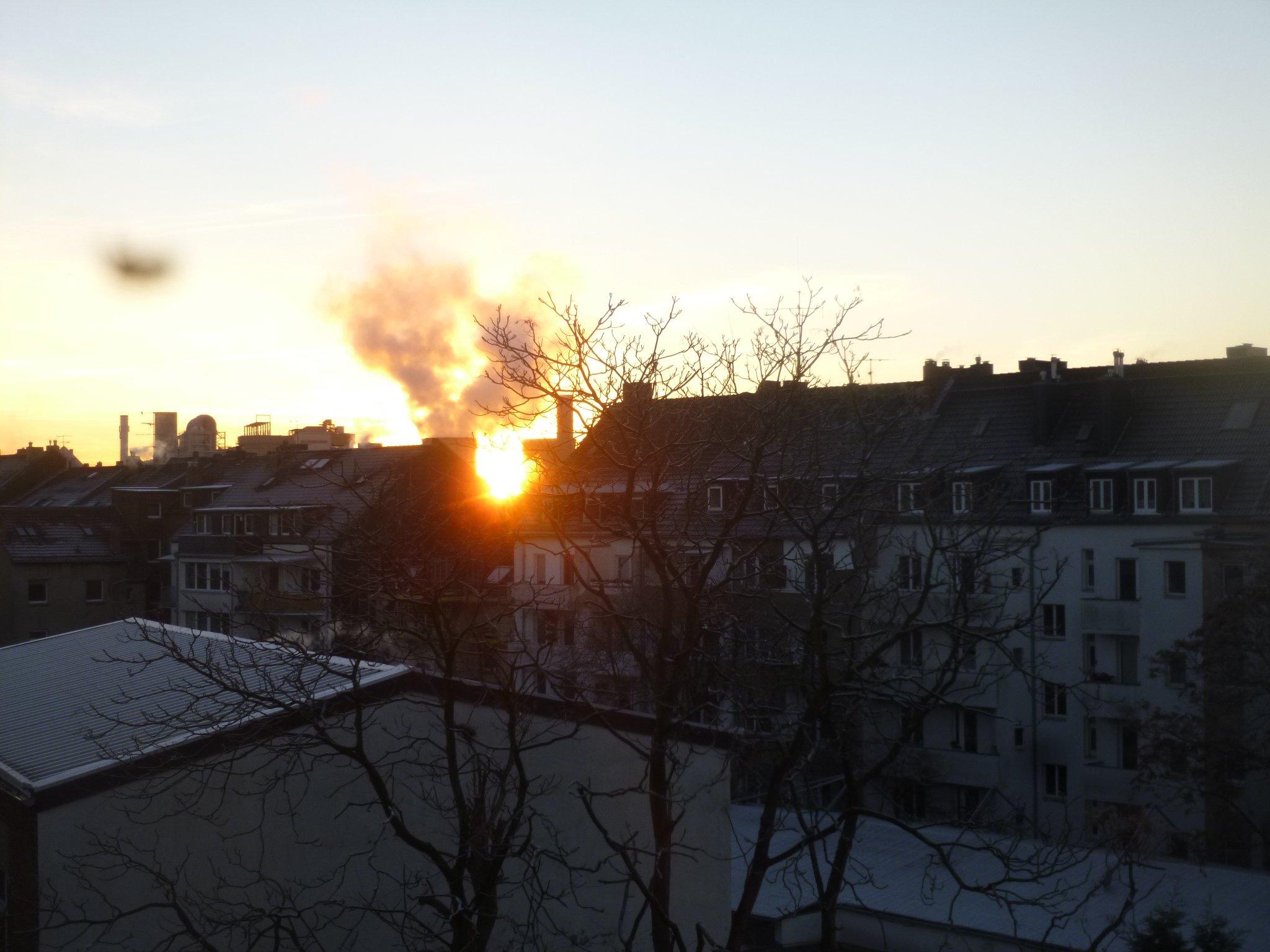 Sonnenaufgang - 4.12.2016