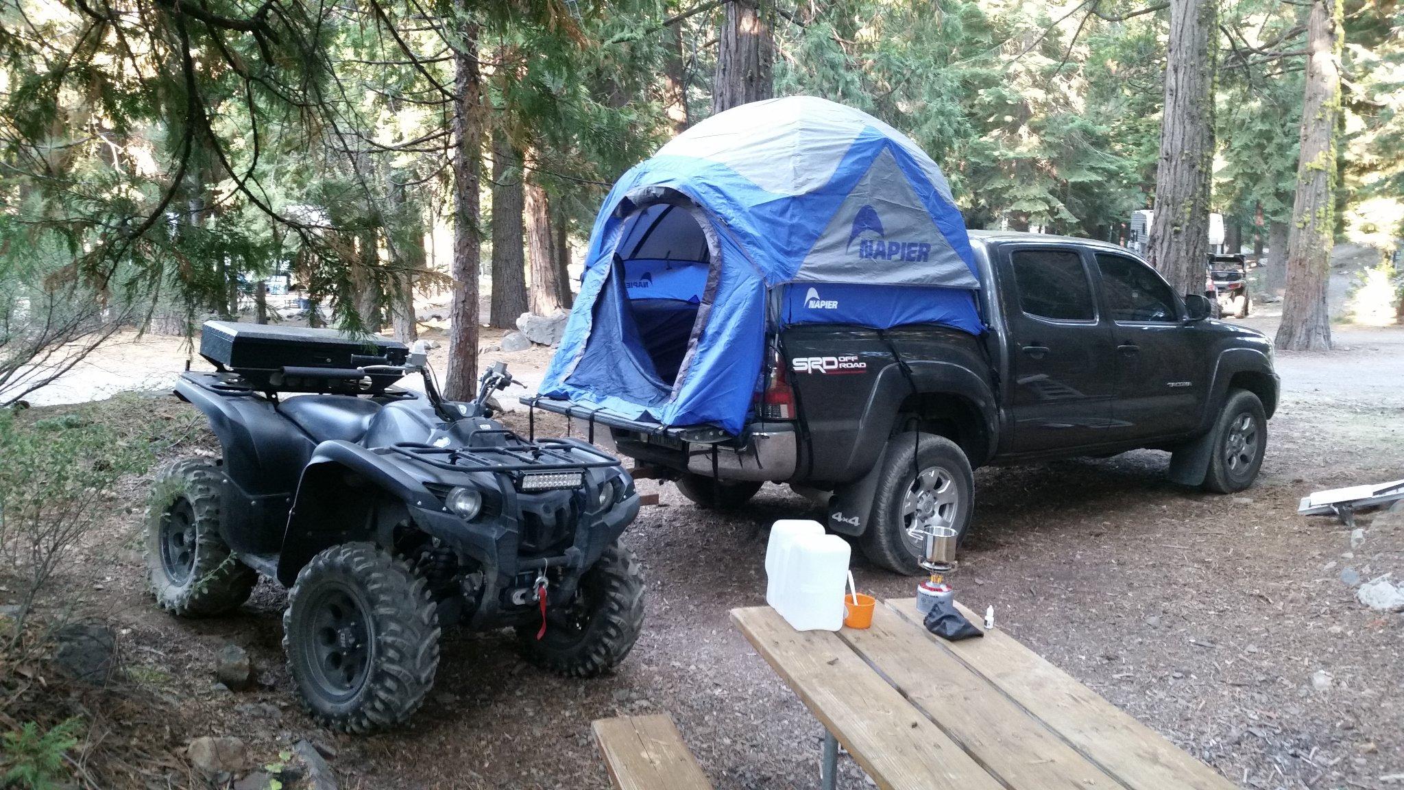 camper tent for short bed for sale sportz napier tacoma. Black Bedroom Furniture Sets. Home Design Ideas
