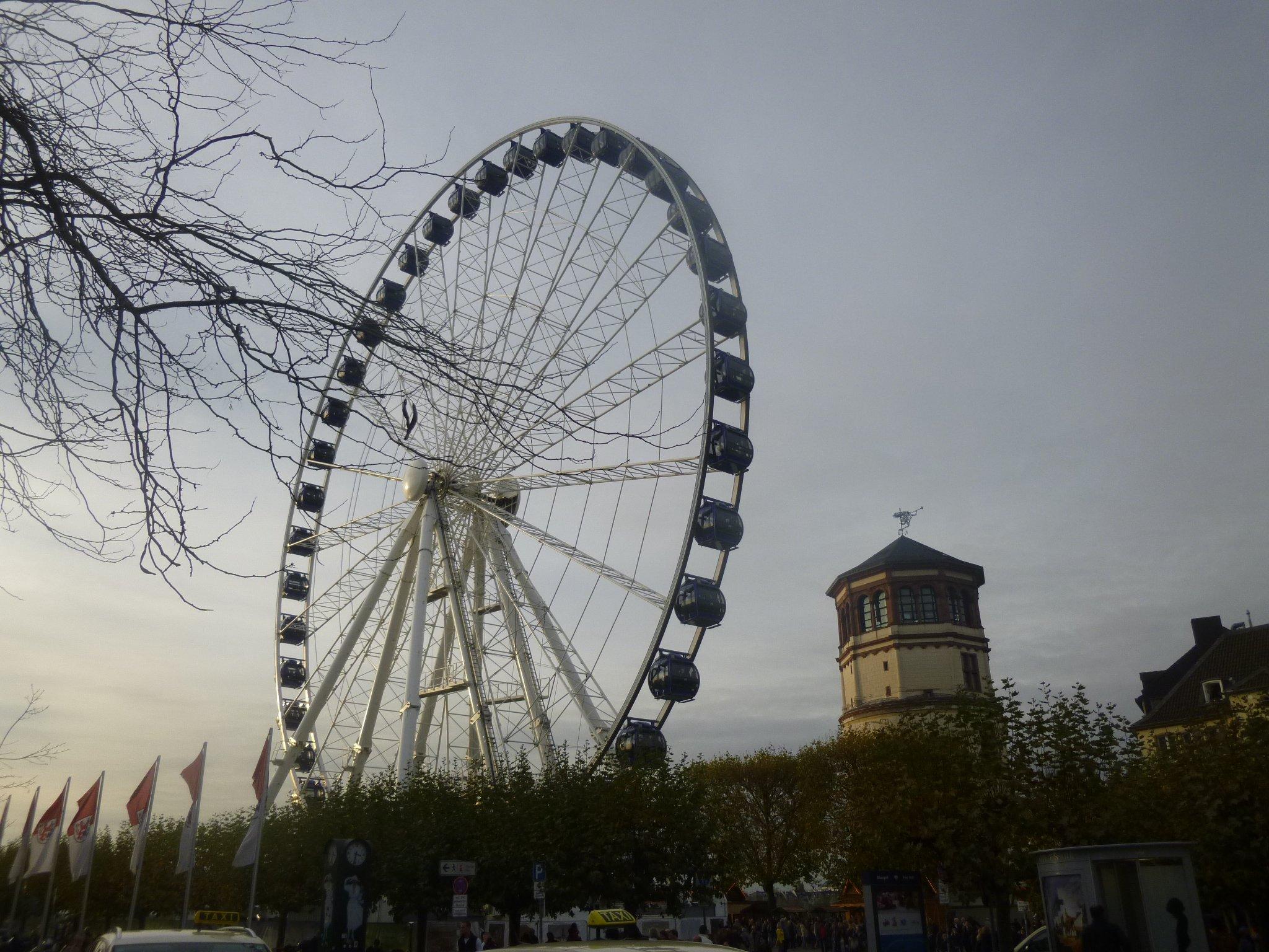 Riesenrad + Schlossturm