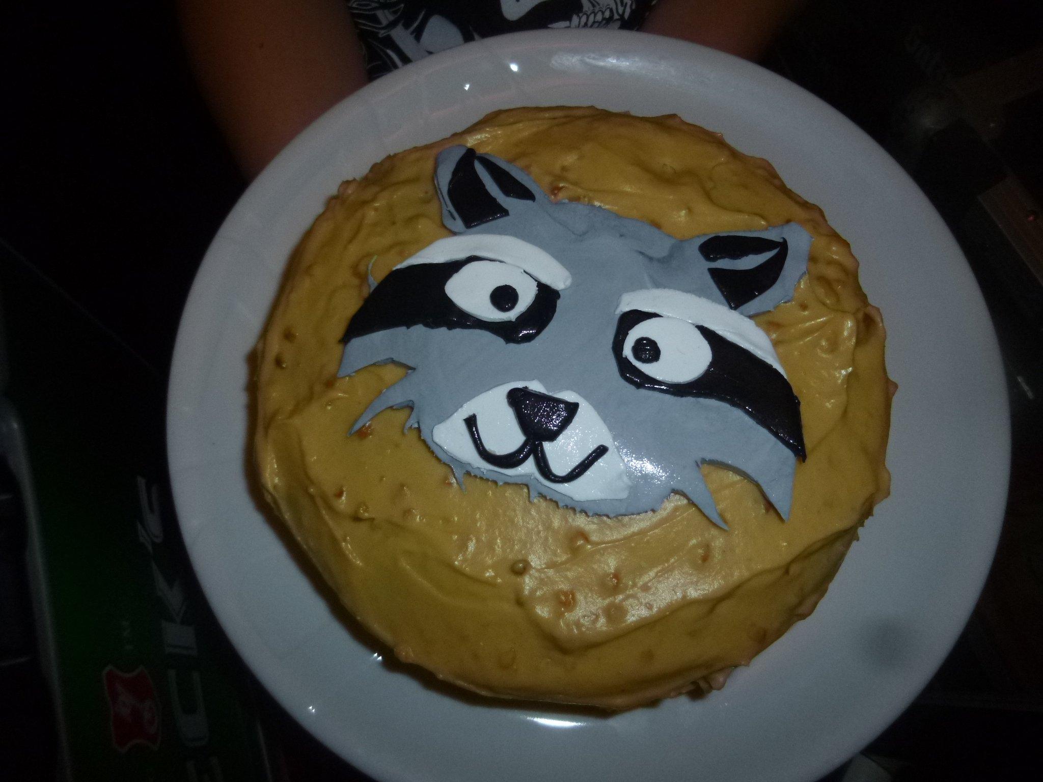 Kuchen - Waschbär