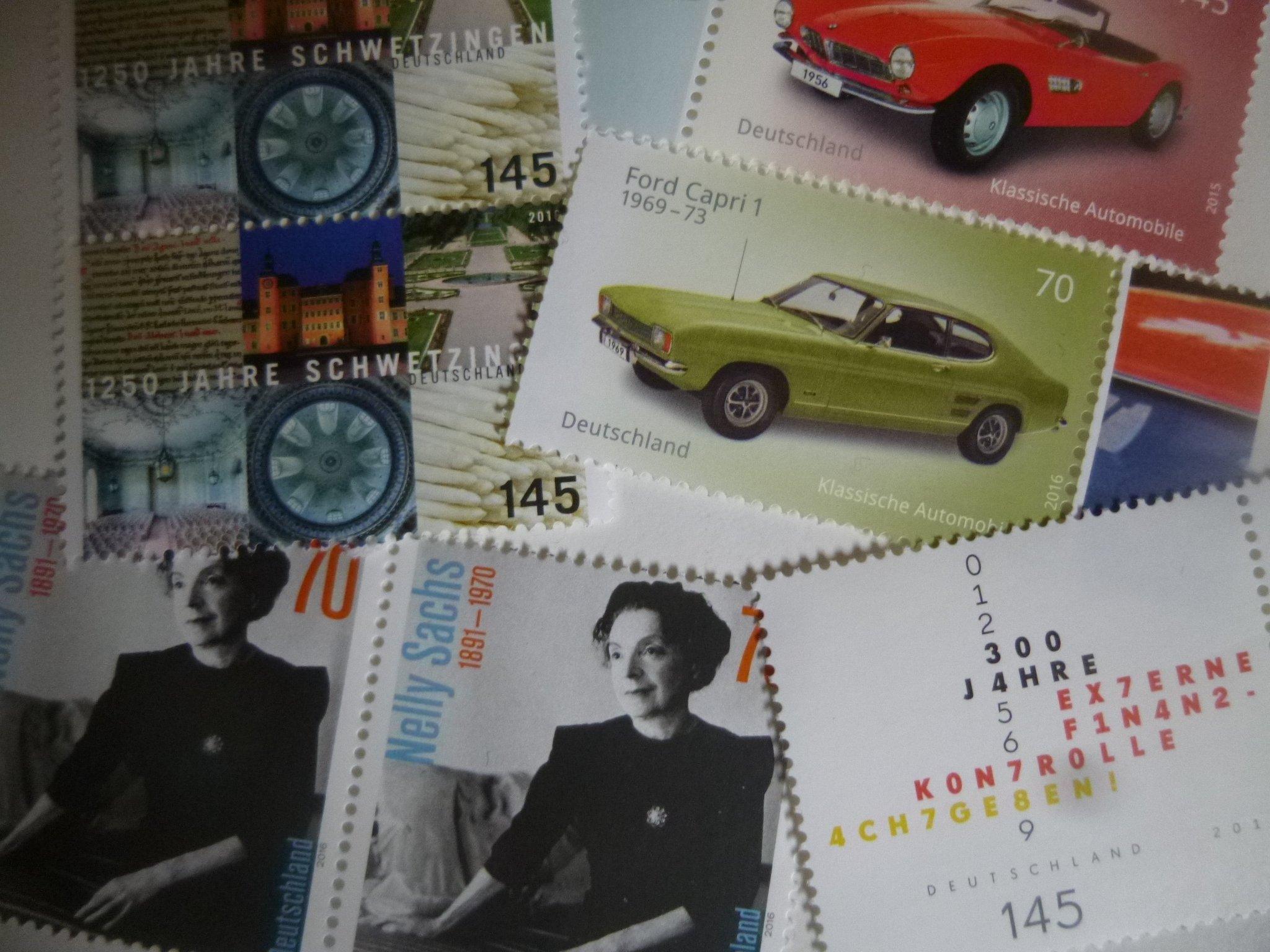 Briefmarken 2016