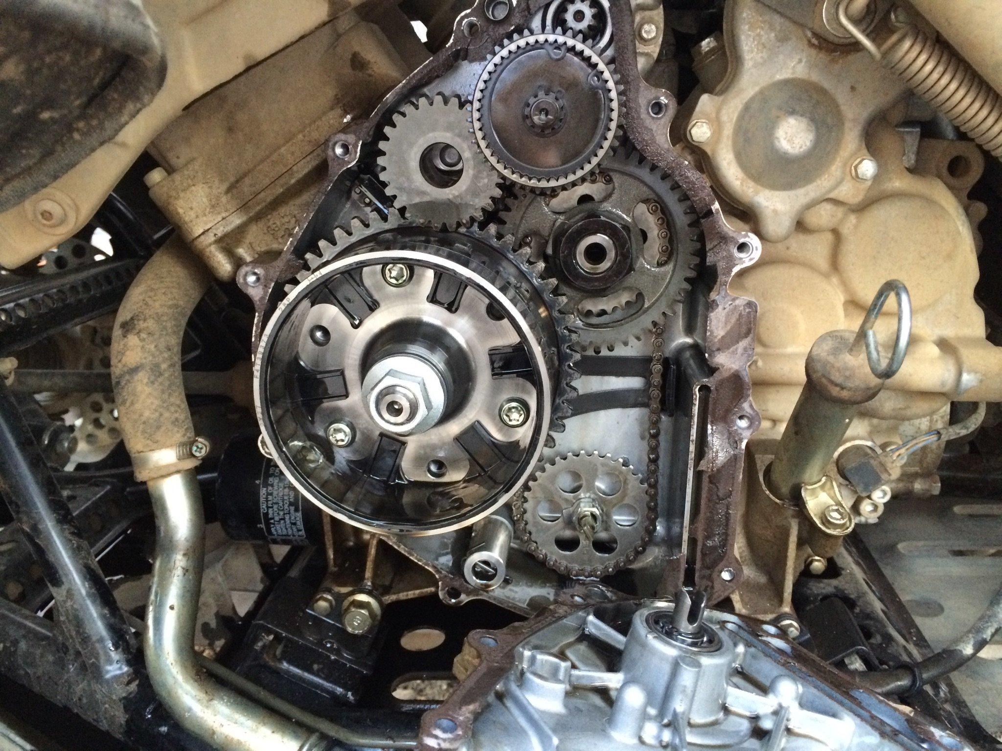 Yamaha Grizzly Atv Forum Urgent Need Help Engine Troubles Burning Oil