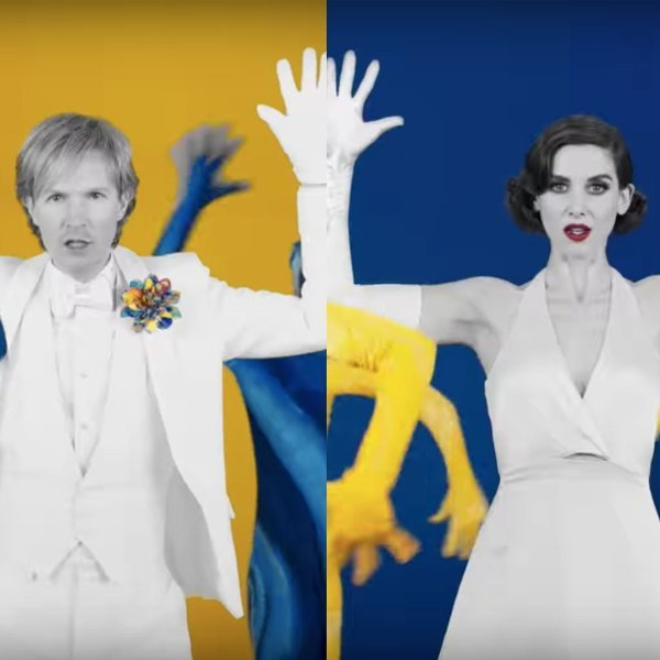 Beck's new 'Colors' video was directed by Edgar Wright and stars Alison Brie