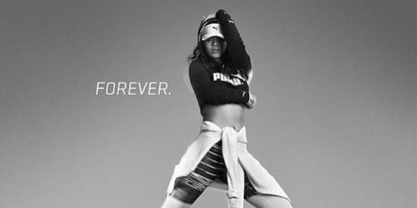 Rihanna Strikes a Pose For New Puma Advertisement