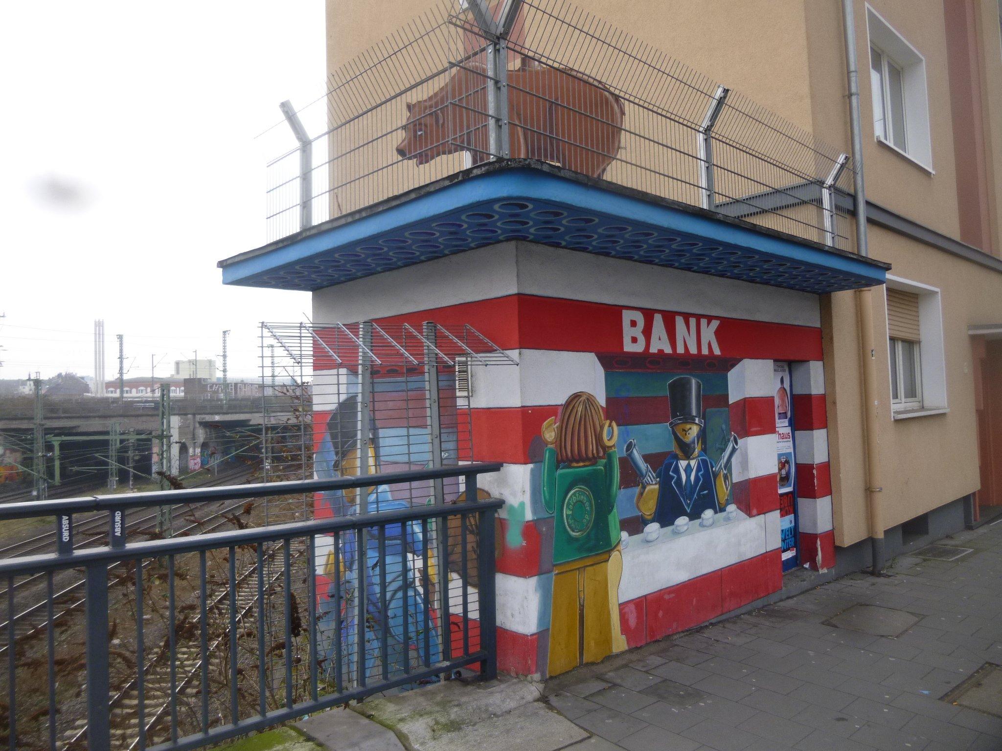 ''Bank'' auf der Ackerstraße