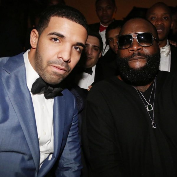 Listen to Drake and Rick Ross' new song 'Gold Roses'