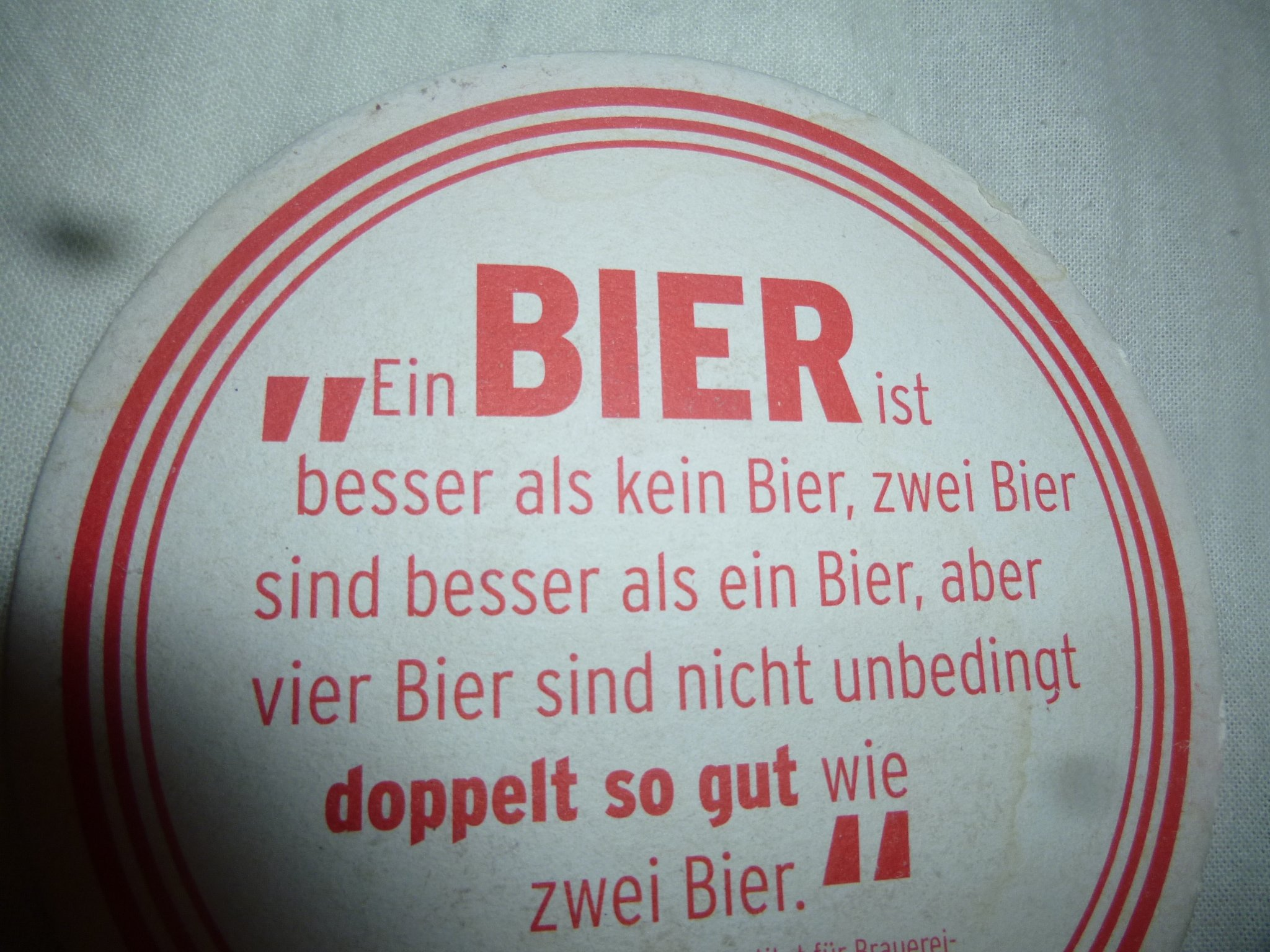 Bier-Deckel-Spruch