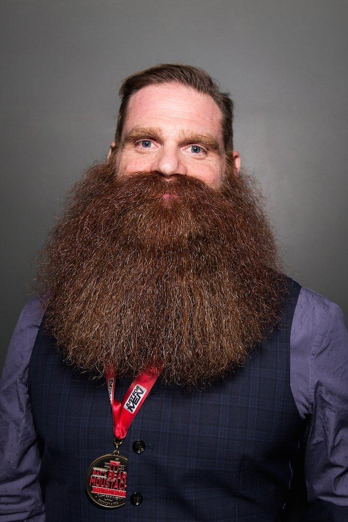 Terrific The Winners Of 39Just For Men National Beard Amp Moustache Championships39 Short Hairstyles Gunalazisus