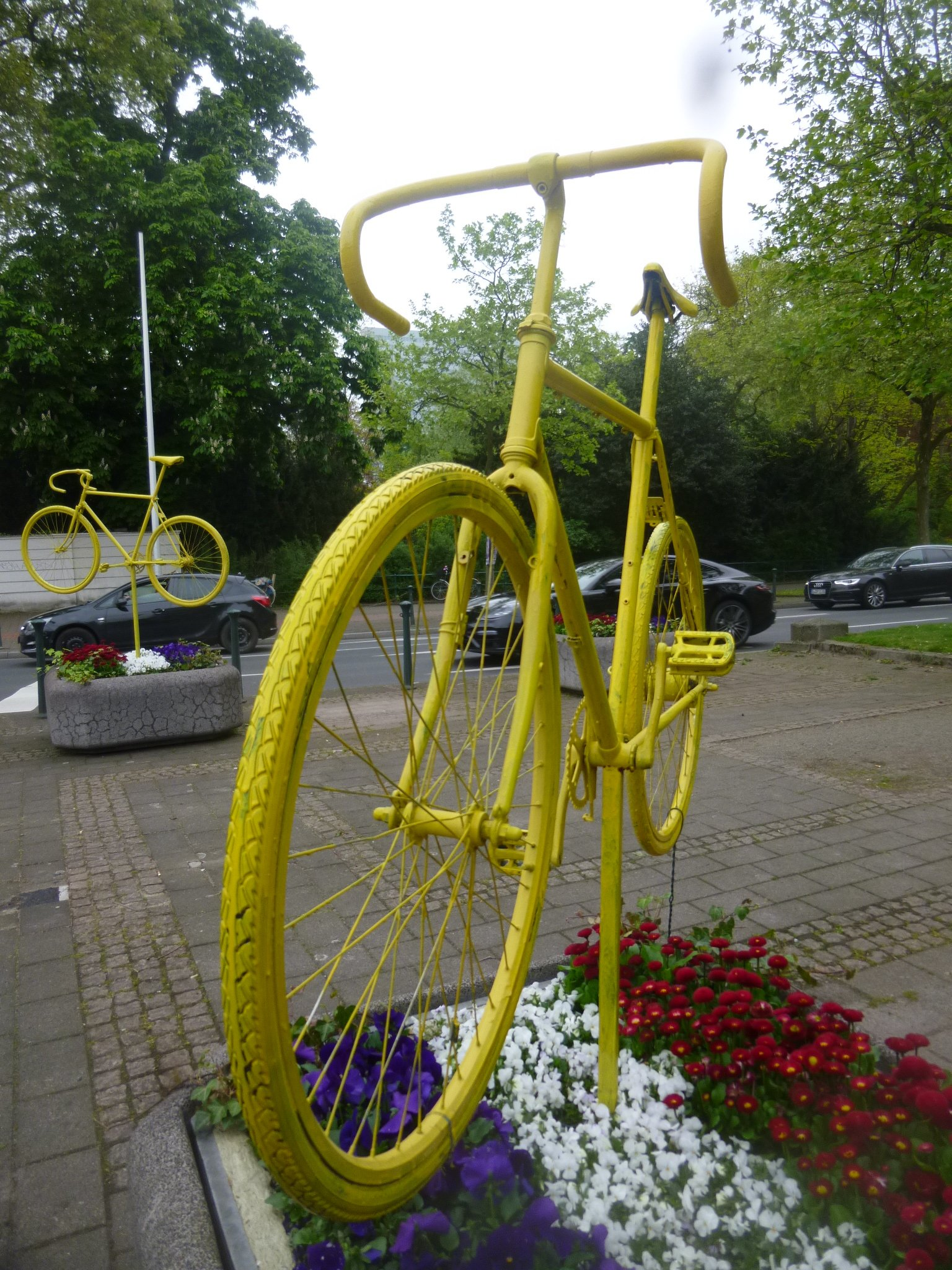 Fahrrad - gelb HHA
