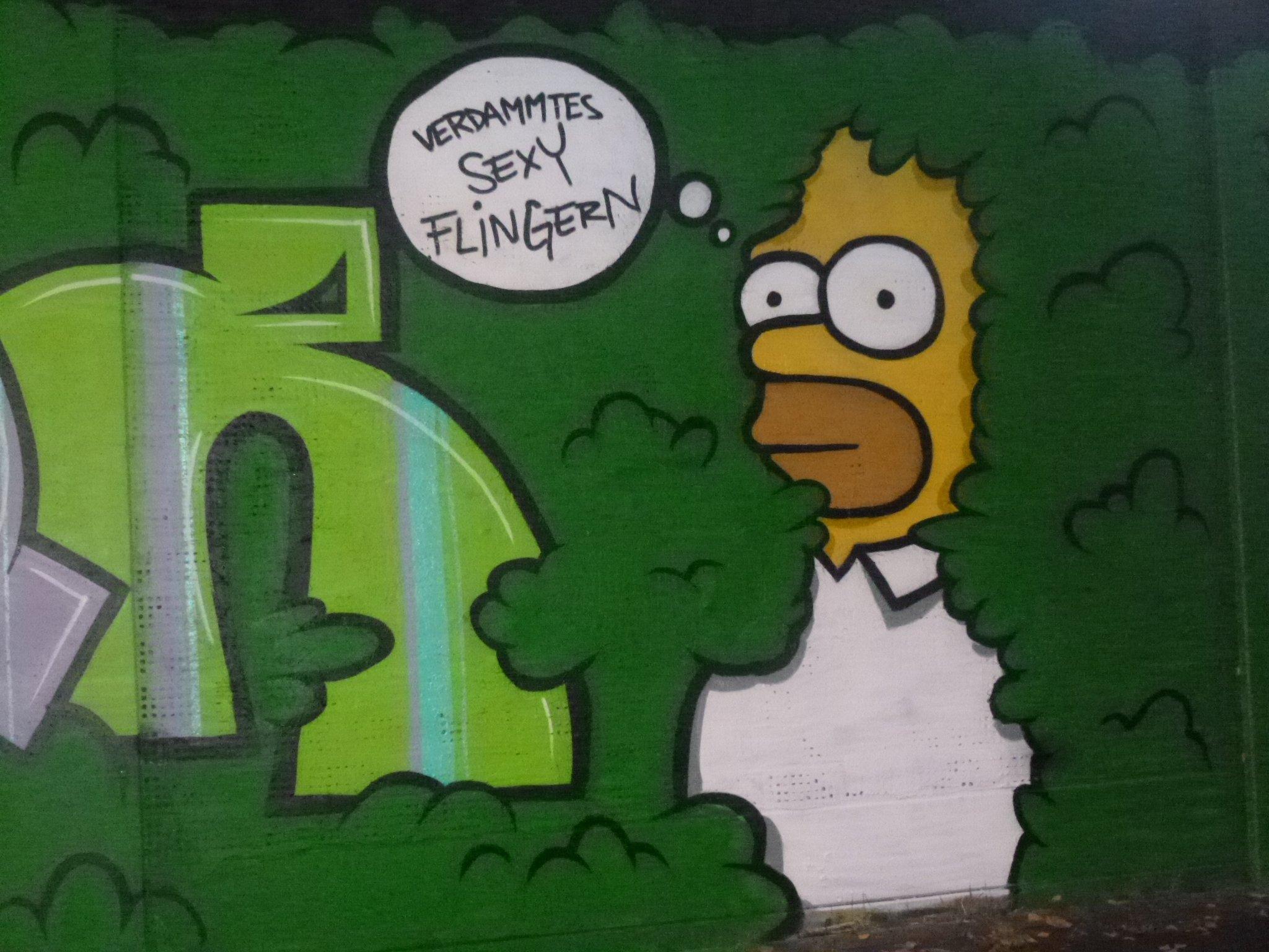 Graffiti - Sexy Flingern